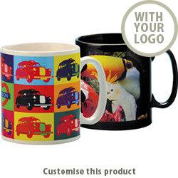 Cambridge Dye Sub Mug 174150 - Customise with your brand, logo or promo text