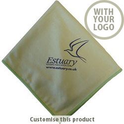 Glass Microfibre Cloth - 40x40cm 17420 - Customise With Your Logo or Text