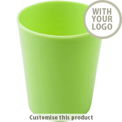Refresh Drinking Cup Green 200206 - Customise with your brand, logo or promo text