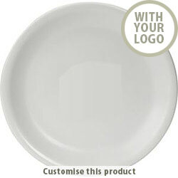 """10"""" Plate 31796 - Customise with your brand, logo or promo text"""