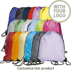 Eynsford Drawstring Back Sack 406107744 - Customise With Your Logo or Text