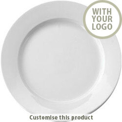 6.25'' Ceramic Plate 70469 - Customise with your brand, logo or promo text