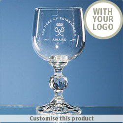 190ml Claudia Crystalite Wine Glass 70610537 - Customise with your brand, logo or promo text