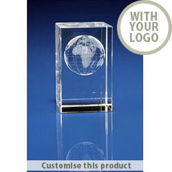 Crystal Globe awards 80257895 - Customise With Your Logo or Text