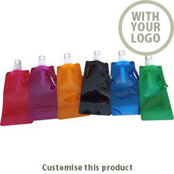 Folding Water Bottle 93371 - Customise With Your Logo or Text