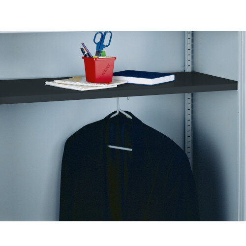Bisley Wardrobe Shelf Black 7035 BWSBlack