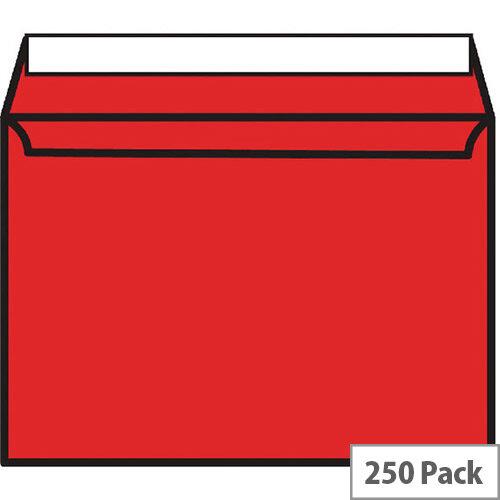Blake C5 Red Coloured Wallet Envelopes (Pack 250)
