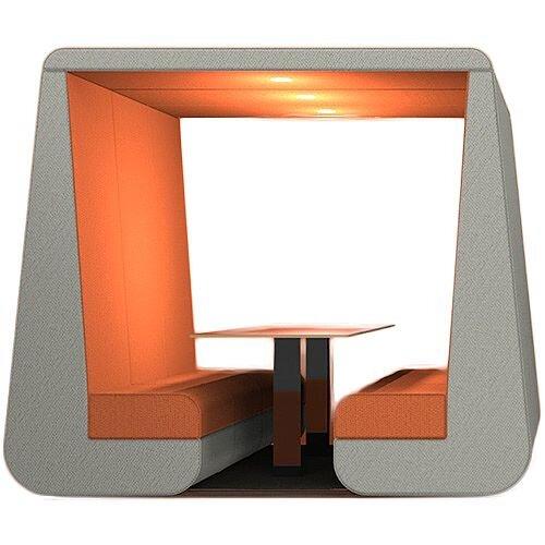 Meeting Den BOB Orange &Grey 6 Seater