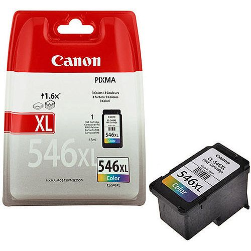 Canon CL-546XL High Yield Colour Inkjet Cartridge 8288B001