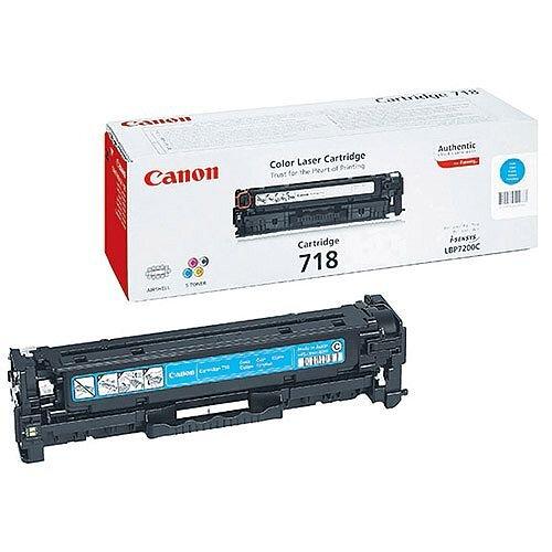 Canon 718 Cyan Toner Cartridge 2661B002 718C