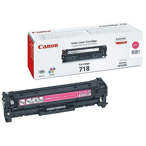 Canon 718 Magenta Toner Cartridge 2660B002 718M