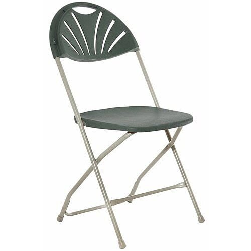 Classic Plus Charcoal Folding Chair
