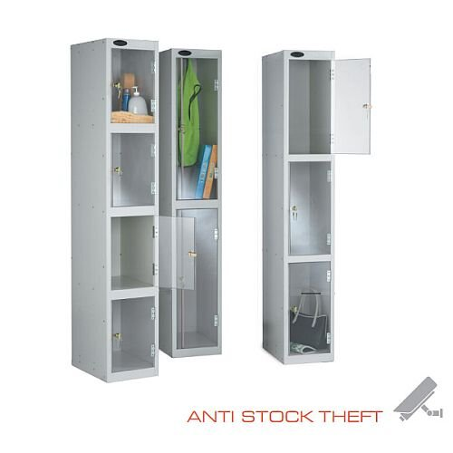 Clear Door Lockers