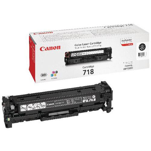 Canon 718 Black Twin Pack Laser Toner Cartridge 2662B005AA