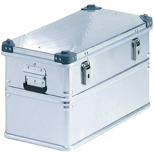 Container With Lid Aluminium 309694