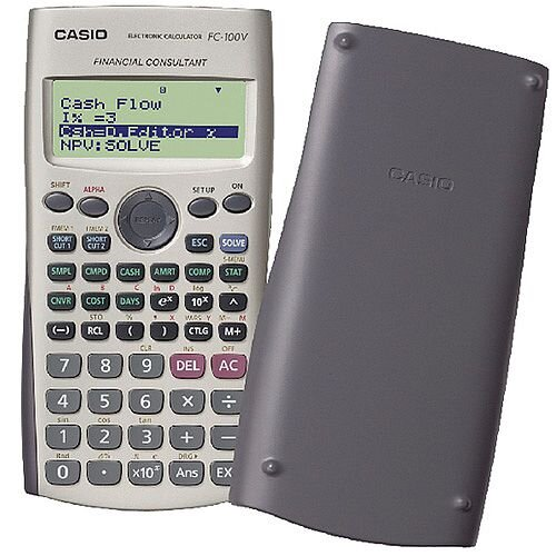 Casio Financial Calculator Silver FcVUm  HuntofficeIe Ireland
