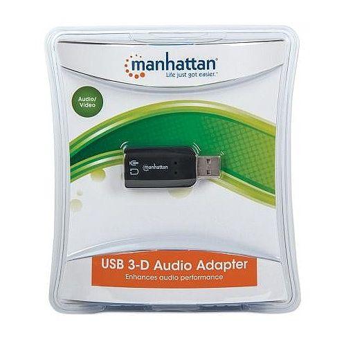 Manhattan Hi-Speed USB 3-D Sound Adapter
