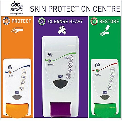 DEB Skin Protection Centre Small Capacity 1000/2000/4000ml SSCSM42EN