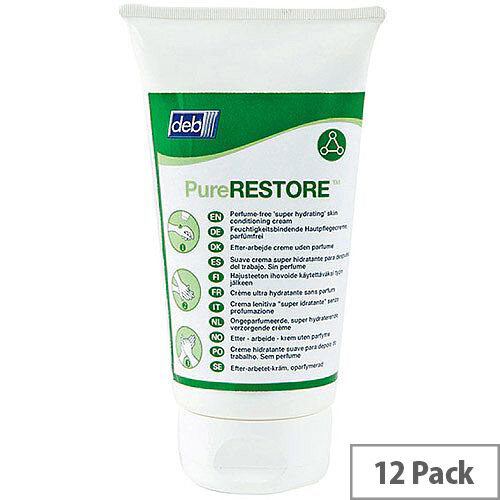DEB Restore After Work Conditioning Hand Cream 150ml Pack of 12 RES150ML