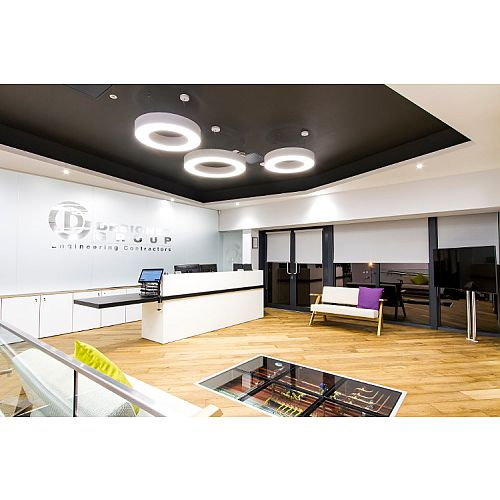 Designer Group New Headquarters Fitout in Dublin By HuntOffice Interiors