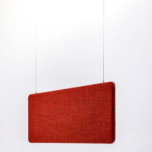 Duo Acoustic Hanging Horizontal Ceiling Screen