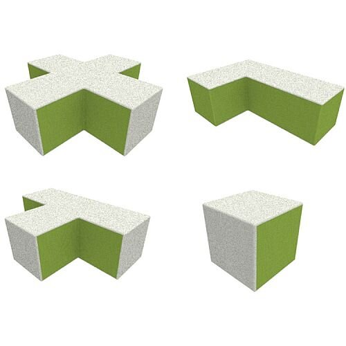 EDAM Modular Soft Seating Range