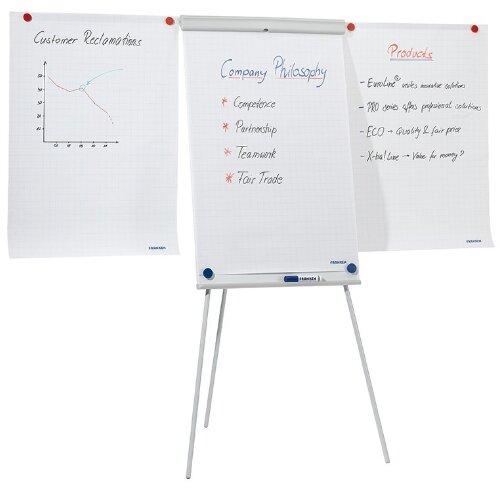 Franken Magnetic Tripod Flipchart Easel X-tra!Line with 2 Extension Arms  EL-FC22