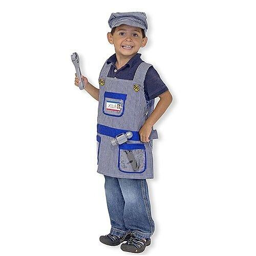 Engineer Kids Costume 3-6 Years
