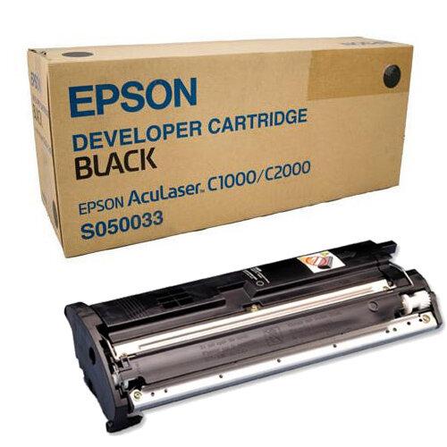 Epson S050033 AcuLaser C2000 Black Laser Toner Cartridge  C13S050033 6000+Pages