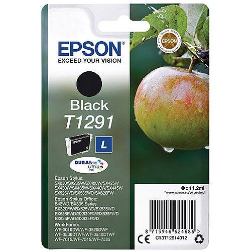 Epson T1291 Black Ink Cartridge Apple Series C13T12914012