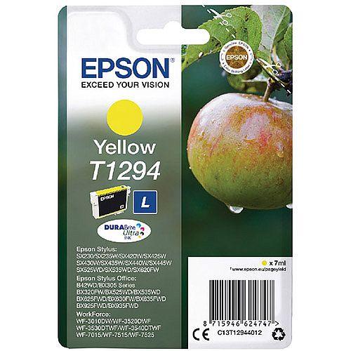 Epson T1294 Yellow Ink Cartridge Apple Series C13T12944012