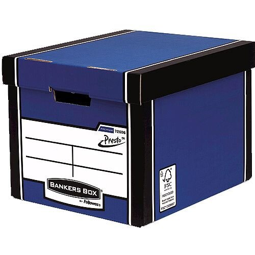 Fellowes Bankers Box Premium 726 Tall Archive Storage Box