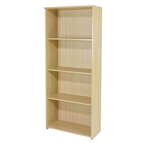 Jemini 1750Mm Large Bookcase Maple