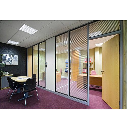 Tenon FIRE &SOUND Re-locatable Acoustic Single &Double Glazed Glass Partitioning