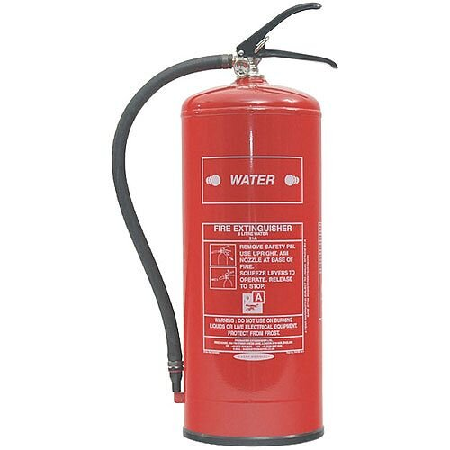 Fire Extinguisher Water 9 Litres