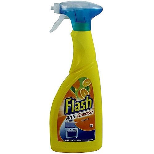 Flash Anti Grease Kitchen Spray 750ml Pack 1