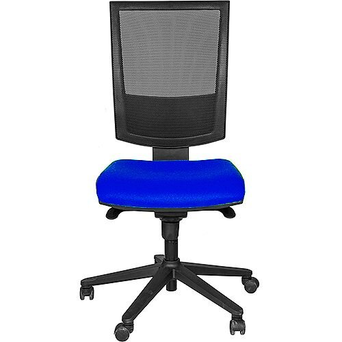 Flash Mesh Office Chair With Tension Control &Adjustable Back Blue