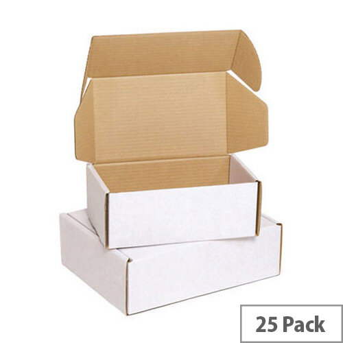 Flexocare Oyster Mailing Boxes 220x110 White 25 of Pack