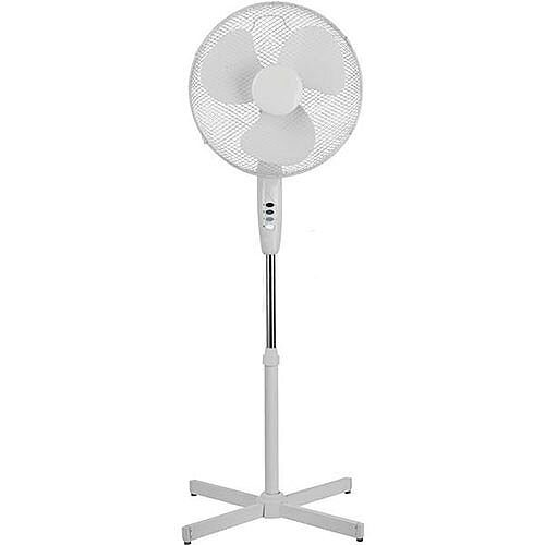 Floor Standing Pedestal Fan With Tilt and Lock Height 1180 - 1370mm Diameter 406mm 5 Star