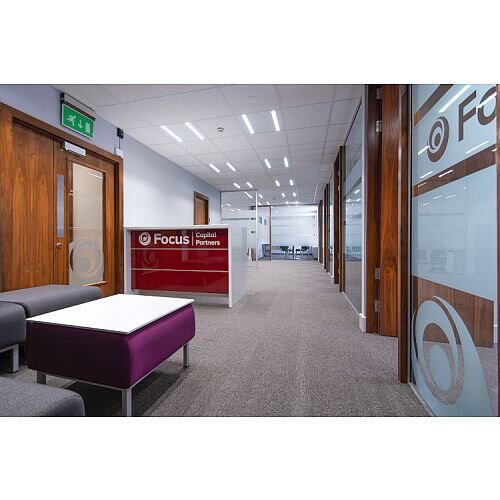 Focus Capital Partners Office Fitout in Dublin by Huntoffice Interiors