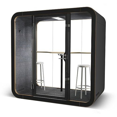 Framery Q Working with PAL 110 Acoustic Booth