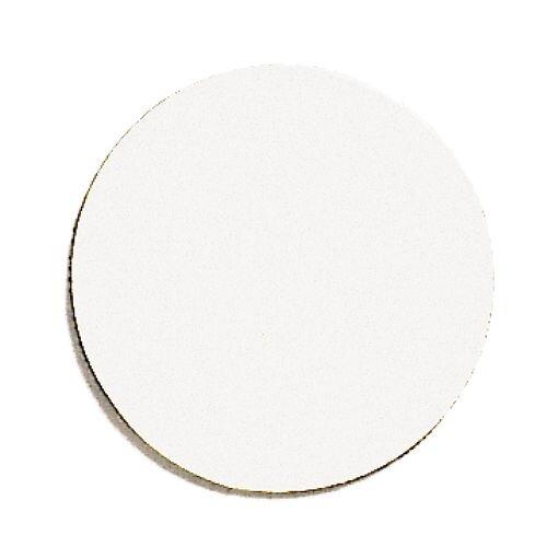 Franken Magnetic White Circle Symbols Pack of 50 M861 09