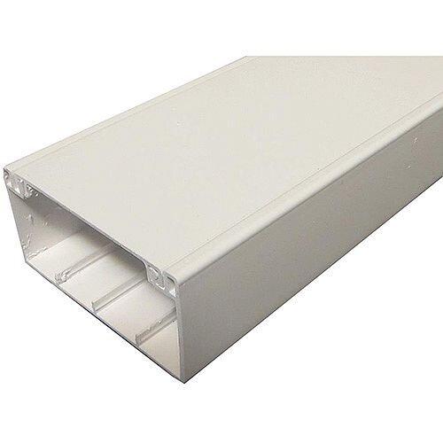 Algar 100 x 50mm Dado Trunking 3m lgth - White