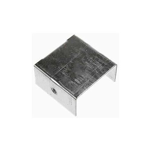 Steel 100 x 100mm Stop End