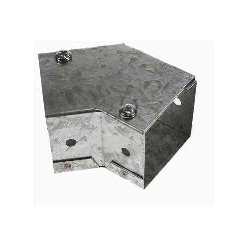 Steel 100 x 100mm Flat 45 Degree Bend