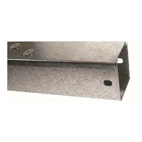Steel 100 x 50mm Galvanised Trunking  3m lgth