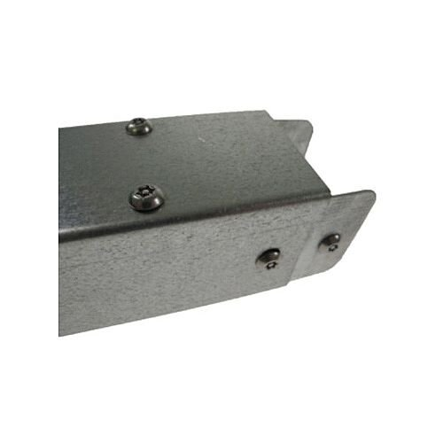 Steel 100 x 50mm TP Galvanised Trunking 3m lgth