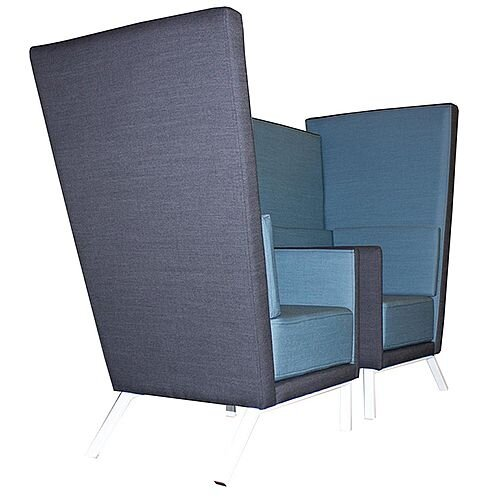 Acoustic Meeting Booth GEORGIA Blue &Grey