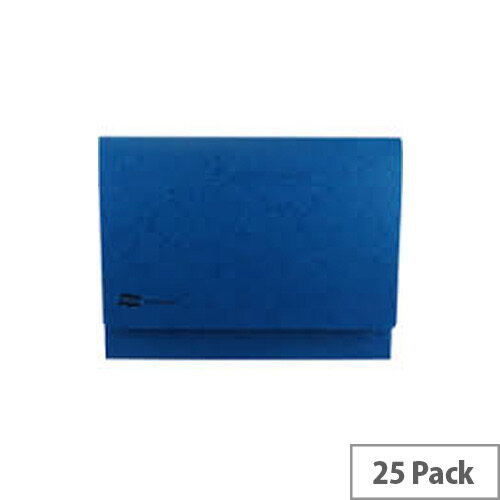 Europa A3 Document Wallet 32mm Capacity Dark Blue Pack of 25 GH4785