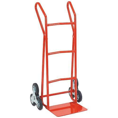 Hand Truck Heavy Duty SC3 Stair Climbing Rubber Wheels 200kg Capacity 309044